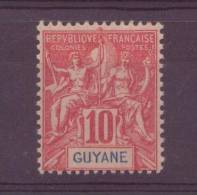 Guyane   N°44** ,   Neuf Sans Charniere