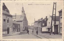 CPA - BELLAIRE - L'église Et L'arrêt Du Vicinal - Beyne-Heusay