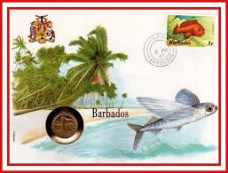 """E.P.N. De 1987 """" BARBADOS """" En Parfait état ! --> Voir Le Commentaire. - Barbades (1966-...)"""