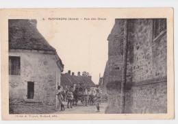 PARFONDRU - Rue Des Choux - Attelage Militaire - Chevaux - Cliché Poyart Richard 4 - Imprimerie Le Deley - France