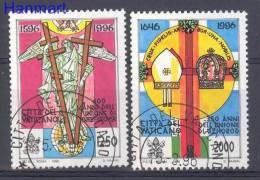 Vatican 1996 Mi 1172-1173 Stamped - Angels - Christendom
