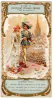 Chromo Chocolat / Cacao Poulain : L'oiseau Bleu (N°6) Mariage Du Roi Charmant Et Le La Reine Florine - Poulain