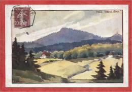 68 - DREI AEHREN - TROIS EPIS  - Carte Signée J.J. WALTZ - HANSI - Série Hotelier & Restaurateur - Trois-Epis