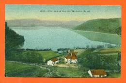 Dpt   39  Chateau Et Lac De Chalain - France