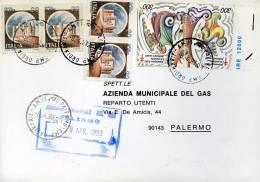 CASTELLI 20 LIRE X 4 1993 COPPIA ERINNOFILI 300 LIRE ANTITUBERCOLARE - 6. 1946-.. Repubblica
