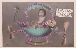 21162 Joyeuses Paques. Oeuf Volant Bebe. Lotus 601 - Non Classés