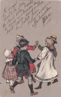21173 Ronde D'enfant, Garcon, Fillette; En Relief . PF 2069 - 1907 Pas De Signature - Groupes D'enfants & Familles