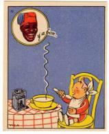 Chromo Banania, Petit Déjeuner Familial, Signé Vica, N°42, Y'a Bon, Bébé - Chocolat