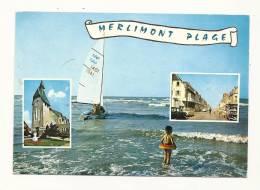 Cp, 62, Merlimont-Plage, Multi-Vues, écrite - Autres Communes