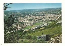 Cp, 65, Lourdes, Funiculaire Du Pic De Jer Et Vue Générale De Lourdes - Lourdes