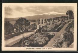Cartolina Taormina, Giardino Duca Di Bronte - Italie