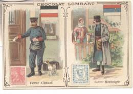 2721-FIGURINA CHOCOLAT LOMBART-FACTEUR ALLEMAND-FACTEUR MONTENEGRIN - Lombart
