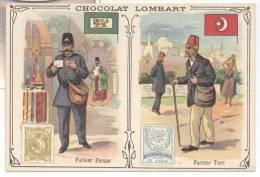 2723-FIGURINA CHOCOLAT LOMBART-FACTEUR PERSAN-FACTEUR TURC - Lombart