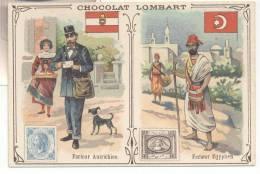 2724-FIGURINA CHOCOLAT LOMBART-FACTEUR AUTRICHIEN-FACTEUR EGYPTIEN - Lombart