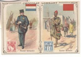 2725-FIGURINA CHOCOLAT LOMBART-FACTEUR HOLLANDAIS-FACTEUR MAROCAIN - Lombart