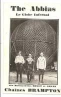 THE ABBINS -  Le Globe Infernal Sur Motocyclettes Monet Et Goyon  - Chaînes Brampton - Cartoline