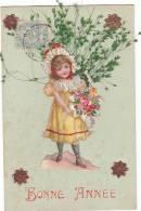21188 Decoupis Herbe Enfant Bonne Année - Non Classés