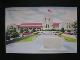 CP Carte Postale USA Etats Unis Will Rogers Memorial Claremore Oklahoma (1) - Etats-Unis