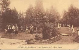 MONT D´HALLUIN - LES BUISSONNETS - LES JEUX - ANIME ENFANTS UNIFORME NEUVILLE EN FERRAIN - France