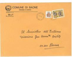 BAONE  35030  PADOVA  ANNO 1980  - LS  FTO18X24 -STORIA POSTALE DEI COMUNI D´ITALIA - POSTAL HISTORY - Affrancature Meccaniche Rosse (EMA)