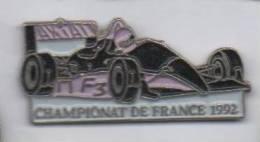 Auto F3 , Axial , Championnat De France 1992 - Badges