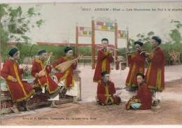 Annam  Hué  Les Musiciens Du Roi - Postcards