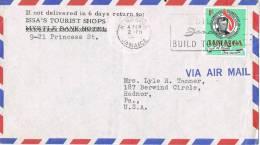 0588. Carta Aerea  KINGSTON (Jamaica) 1964 A Estados Unidos - Jamaica (1962-...)