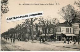 JOINVILLE (VAL DE MARNE) - PLACE DE VERDUN ET BD GALLIENI - Joinville Le Pont