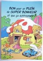CARTE  POSTALE - PEYO - SCHTROUMPF - CHROMOVOGUE 1996 - 7206 - 1 - Postcards