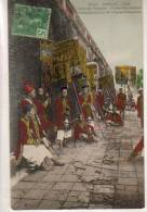 Annam  Hué  Escorte Royale Porte éventail - Postcards