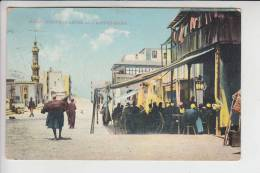 SUDAN - Native Quarter And Coffee Shops 1913, - Sudan