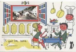 CAUSSOU    /  VUE  GENERALE      /  09  VUE GENERALE   CPSM  10X15 - Autres Communes