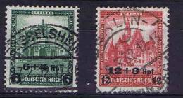 Deutschland: Mi 463- 64, Used - Deutschland