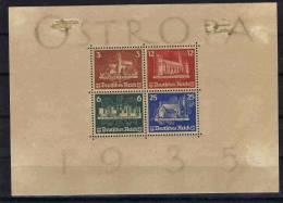 Deutschland: Mi Block 13 MH/* ,  Block Shows Some Damage But Stamps Are MNH - Blocks & Kleinbögen