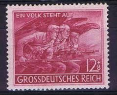 Deutschland: Mi 908 II, MH/*, Punkt Under K Von Volk - Ungebraucht