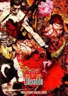 LIBERATION - MEILLEURS VOEUX 2005 - ILLUSTRATION ET PHOTOMONTAGE DE CHRISTIAN LACROIX - CART�COM PRIVEE