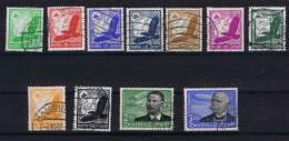 Deutschland: Mi 529-539, Used