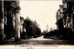 Longpont         Vue Intérieure Des Ruines De L'abbaye  . - Autres Communes