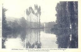 86 Poitiers Vallée Du Clain L'été Au Point Du Jour Et Les Côteaux De Rochereuil Neuve - Poitiers