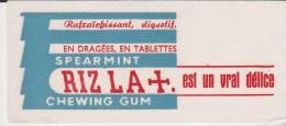 Buvard Riz La + - Tabac & Cigarettes
