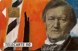 CARTE-PUCE-PRIVEE-PUBLIC- 50U-GEM-8/91-EN148a-ARSENA L-WAGNER-NUMEROTE-UTILI SE-TBE - Francia
