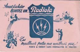Buvard Radiola - Buvards, Protège-cahiers Illustrés