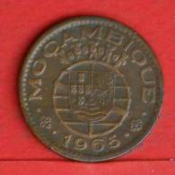 MOZAMBIQUE  1  ESCUDOS  1965   KM# 82  -    (1074) - Mosambik
