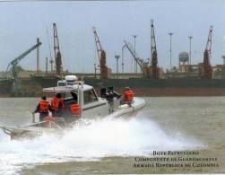 Lote PEP338, Colombia, Postal, Postcard, Armada, Bote Patrullero, Navy - Colombia