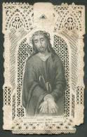 IMAGE PIEUSE / HEILIG PRENTJE * Rosaire Médité, Dentelle Le Christ + Ecce Homo-.  - 8319 - Images Religieuses
