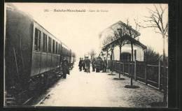 CPA Sainte-Menehould, Gare De Guise - Sainte-Menehould