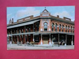 OK - Oklahoma > Guthrie  Bank Building 1908 Cancel=ref 745 - Guthrie
