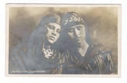 EGYPTE  /  JEUNES  FILLES  EGYPTIENNES  /  Edit.  THE CAIRO POSTCARD TRUST  ( Style LEHNERT & LANDROCK ) /  CARTE-PHOTO