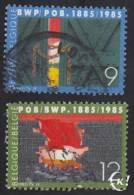 1985 - BELGIË/BELGIQUE/BELGIEN - Y&T 2167/2168 - B.W.P./P.O.B. - Belgien