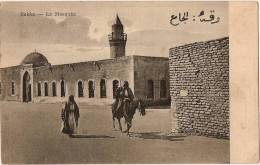 203 - CPA - POST CARD - RAKKA SYRIE - 1922 La Mosquée - Carte Animée - Syrie